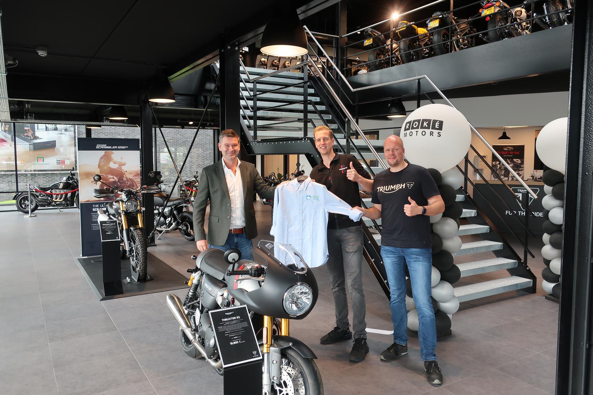 Handen uit de mouwen award voor Roké Motors
